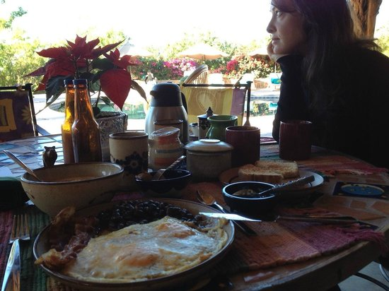 Serendipity:                   excellent breakfast