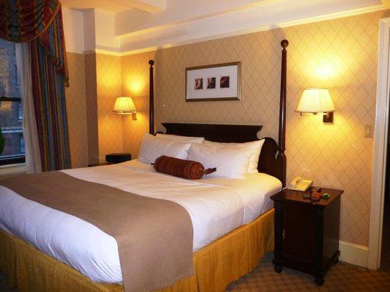 InterContinental New York Barclay:                   Notre chambre                 