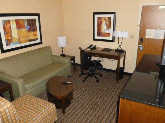 Fairfield Inn & Suites San Francisco Airport:                   suite, work area