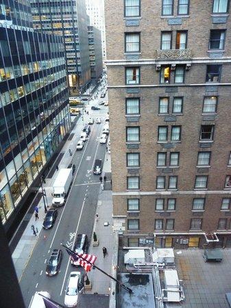 InterContinental New York Barclay:                   vue de la chambre                 