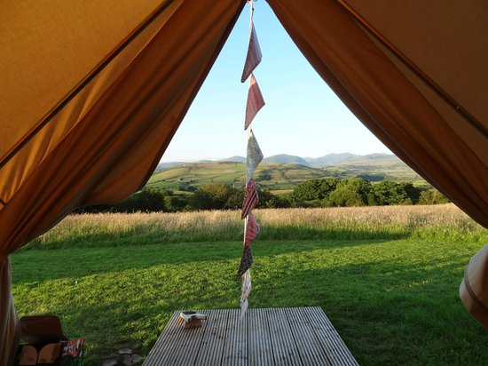 Seventh Heaven Glamping Ltd:                   Miss waking up to this view every morning!