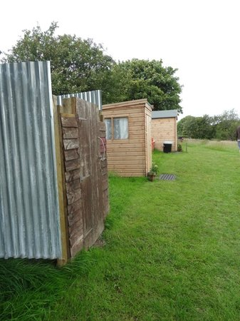Seventh Heaven Glamping Ltd:                   The showers & toilet! Dont be put off, they were clean and private.