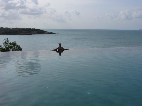 Six Senses Samui:                   Hotel infinity pool - too beautiful and the sunsets gorgeous