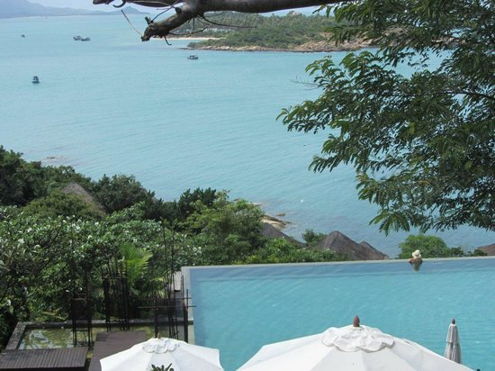 Six Senses Samui:                   View from Villa 54 !