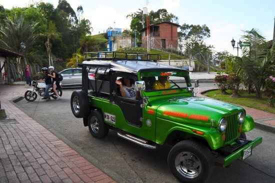 Valle del Cauca Department, Colombia:                   Jeeptour
