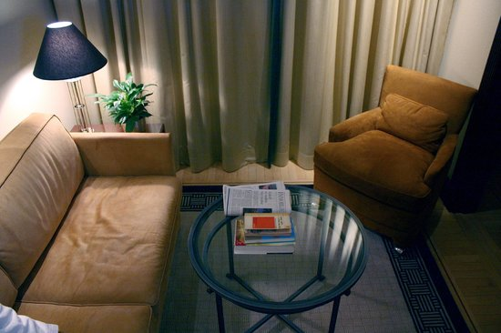 Hotel Adlon Kempinski:                   Sitzecke