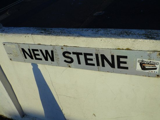 New Steine Hotel:                   Street name
