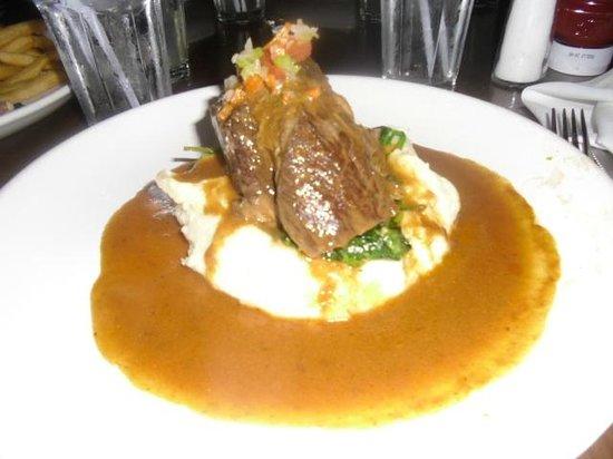 Lazy Dog Restaurant & Bar:                   pot roast ! very good ...