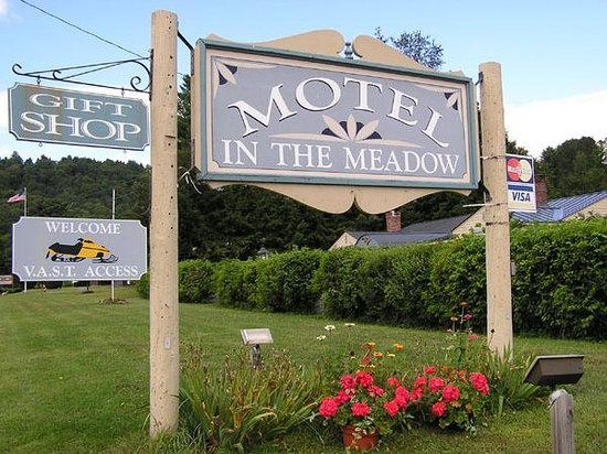 Motel in the Meadow-billede