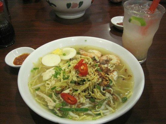 Little Penang Cafe:                   Lam Mee
