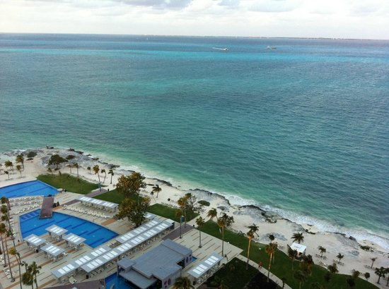 Hotel Riu Palace Peninsula:                   View from our room