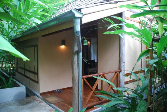 My Dream Boutique Resort:                   Bungalow entrance