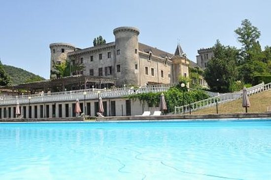 Chateau de fontager valence france rhone alpes see for Restaurant valence france