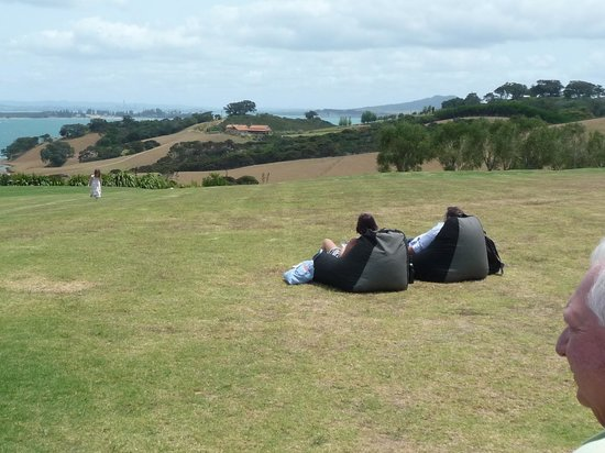 See Waiheke Tours:                   Sip some wine and enjoy the view...