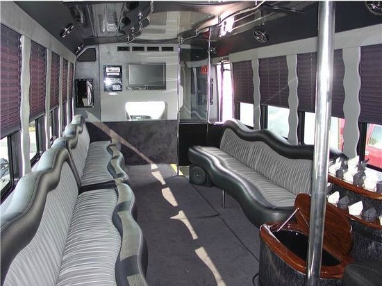 Long Island North Fork Wine Tours Interior Party Bus