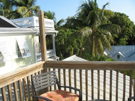 Key West Bed and Breakfast:                   View from room