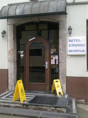 Hotel Emonec:                   Entrance