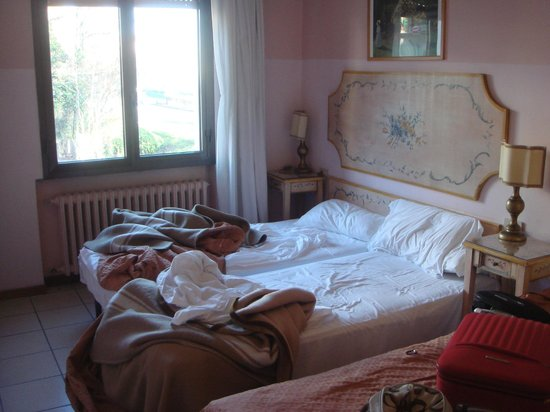 Hotel Ariston:                   room has very cheap furniture. in winter, heating is weak and it's pretty cold