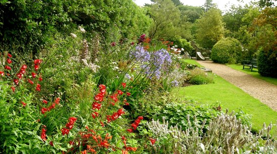Herbaceous Boarder Picture Of Upton Castle Gardens Tenby Tripadvisor