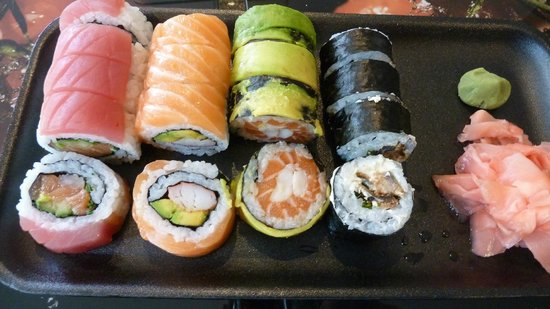 Sushi de Pelicula