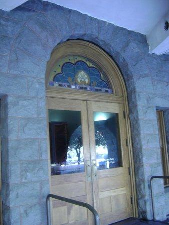 Doorway into Old Red Museum