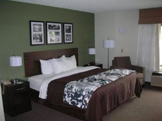 Sleep Inn & Suites of Lake George: King Room