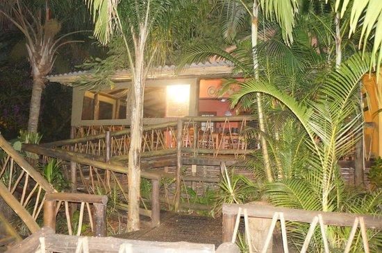 Umlilo Lodge B&B:                   vue de l'espace petit déjeûner