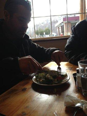Oxbow Restaurant & Saloon:                   green salad