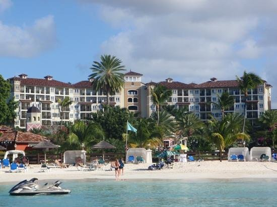 Sandals Grande Antigua Resort & Spa:                   From the Water
