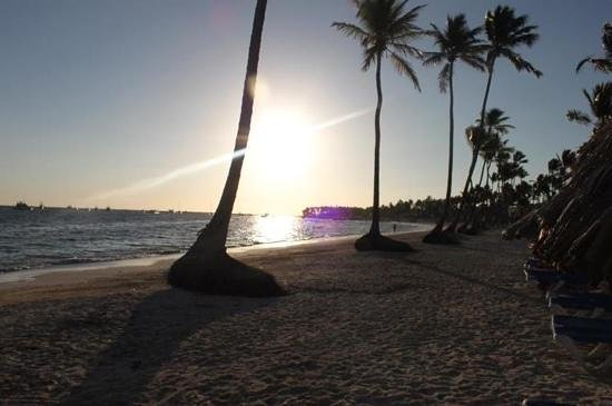 Dreams Palm Beach Punta Cana:                   morning sun
