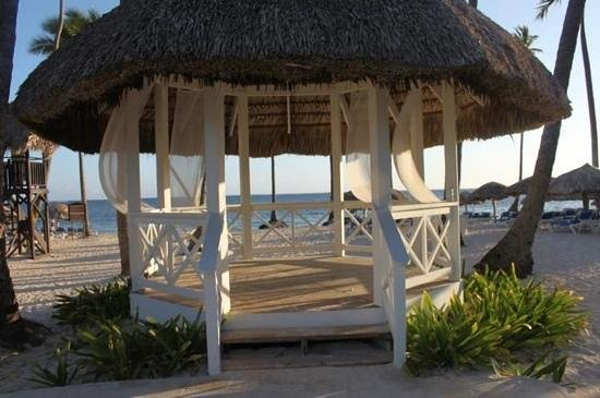 Dreams Palm Beach Punta Cana:                   wedding gazebo on beach