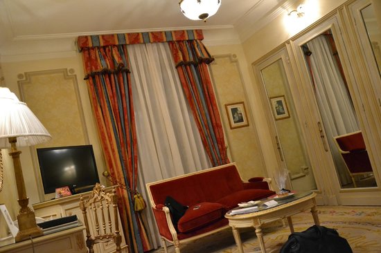 Hotel Ritz, Madrid:                   Chambre