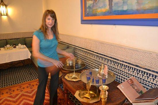Riad Dar Cordoba :                   comedor