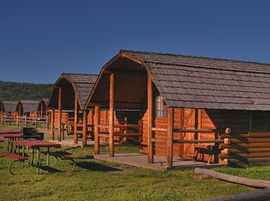 Grand teton park rv resort updated 2016 campground for Yellowstone log cabin hotel