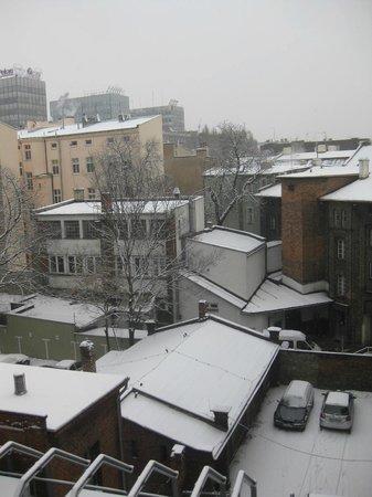 NH Poznan:                   Vue de la chambre
