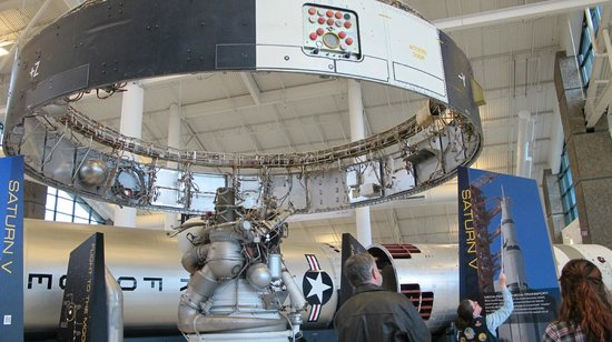 Evergreen Aviation & Space Museum:                   Smallest ring of the Titan 2