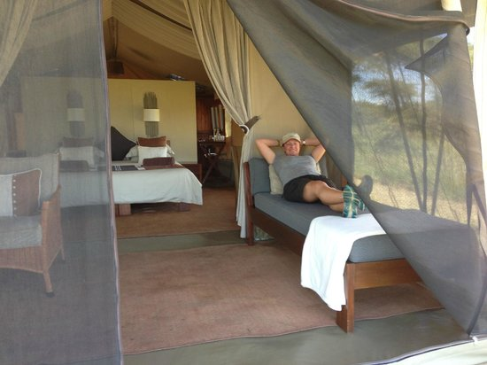 Naboisho Camp, Asilia Africa:                   Awesome tent bedrooms
