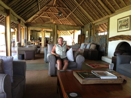 Naboisho Camp, Asilia Africa:                   Main 'Mess Hall'