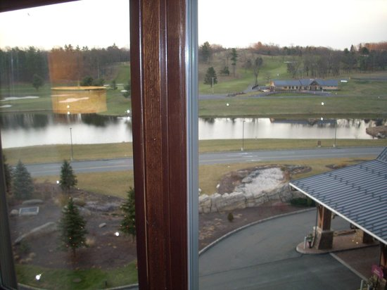 Mount Airy Casino Resort:                   View of the Golf Course From Our Room