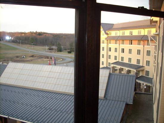 Mount Airy Casino Resort:                   Sunrise from our Room's Window