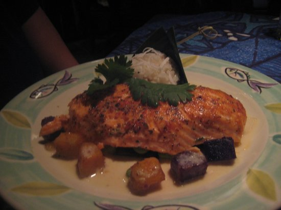 Mama's Fish House:                   King Salmon
