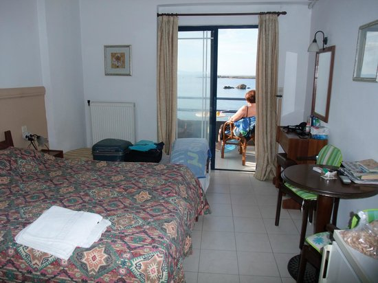Danaos Hotel:                                     Room with balcony