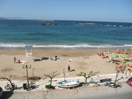 Danaos Hotel:                                     Beach view from your balcony