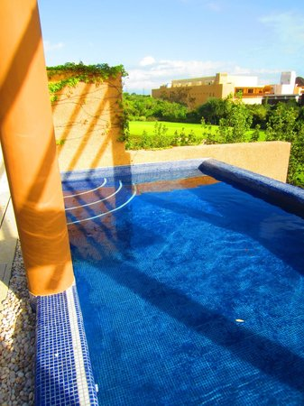 Banyan Tree Mayakoba:                                     Private roof-top pool, Villa 609