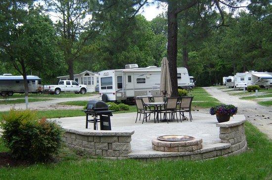 American Heritage Rv Campground Williamsburg Va