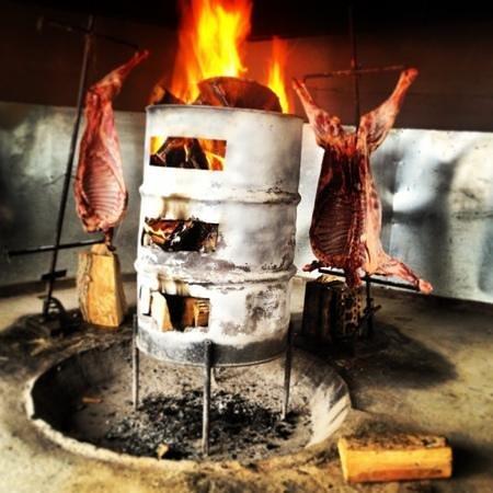 Patagonia Camp:                   dinner cordeiro patagonico