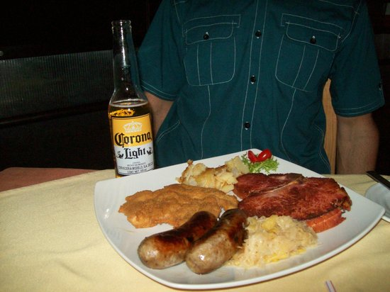"Marlena's Restaurant & Bar :                                                       The ""German Special"""