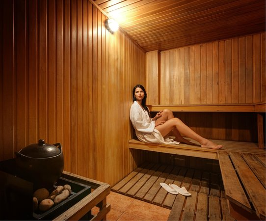 Lancaster House: Sauna