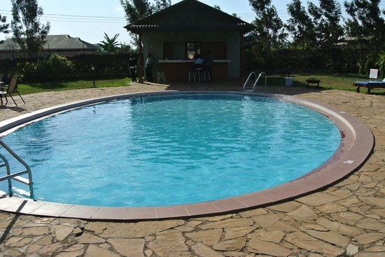 Arusha Planet Lodge:                   The Pool at Planet Lodge