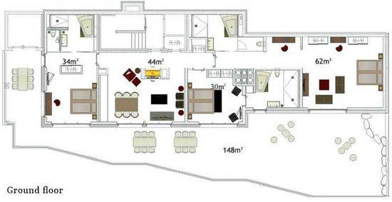 Romantik Hotel Schweizerhof : Ground floor plan